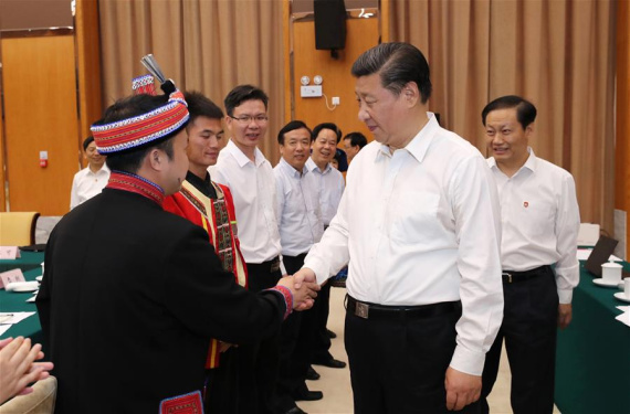 Presidnet Xi urges Guangxi to play bigger role in Belt and Road